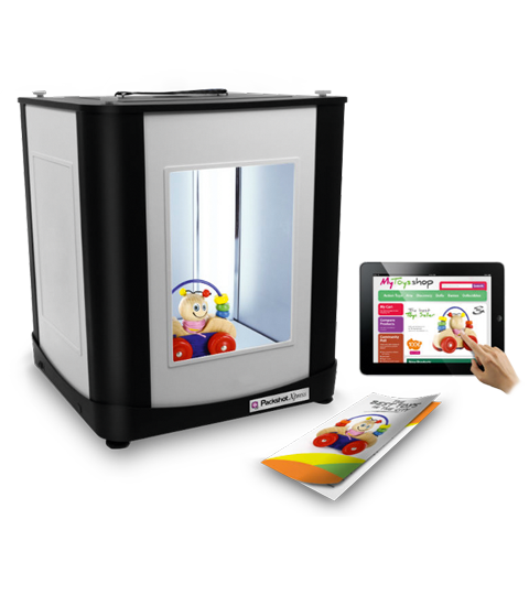 PackshotStart Einstiegsmodell Produktfotografie Komplettpaket Ausrüstung