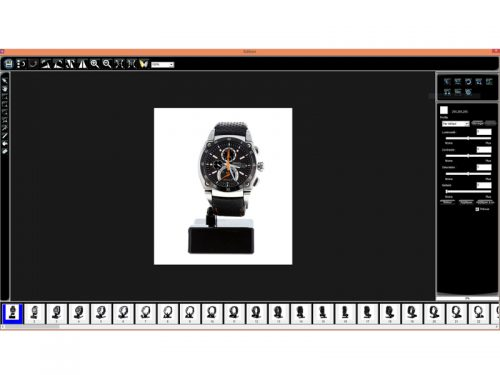 Produktfotografie Bildvorschau Auswahl Funktionen