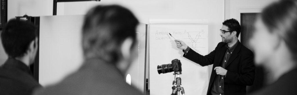 Schulung Immobilien in der Produktfotografie