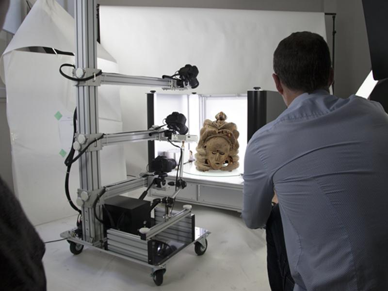 Erstellen Sie eine 3D-Simulation Ihrer Kunstobjekte mit Packshot Creator