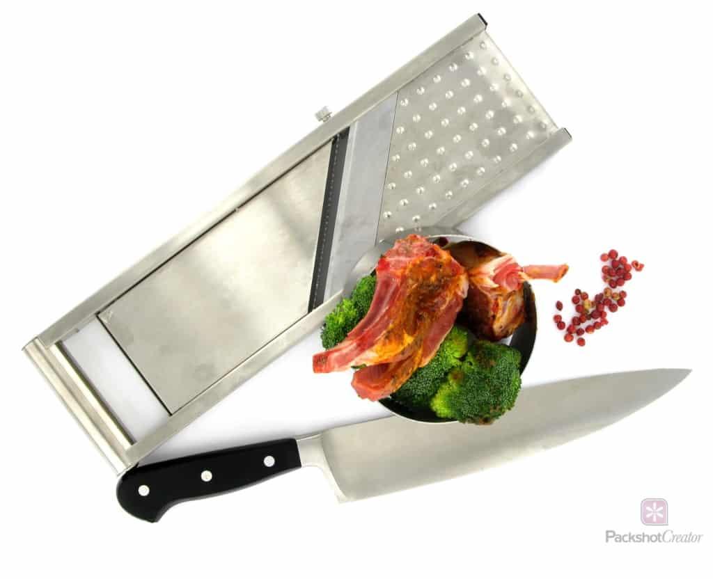 Inszenierung von Kochwerkzeugen