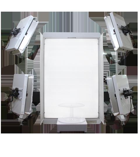 Modebranche Lichttisch liegende Mode Packshot Luminapad
