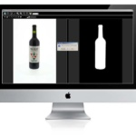 how to photograph a transparent bottle