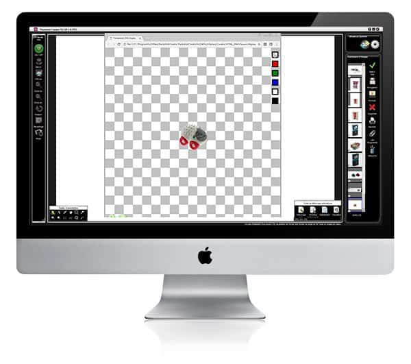 how to cropp a photo of toys on a software