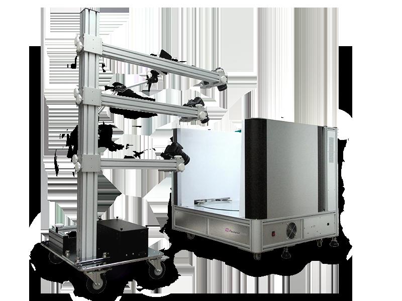 MaestroBot System 3D Packshot modular virtuelle Realität