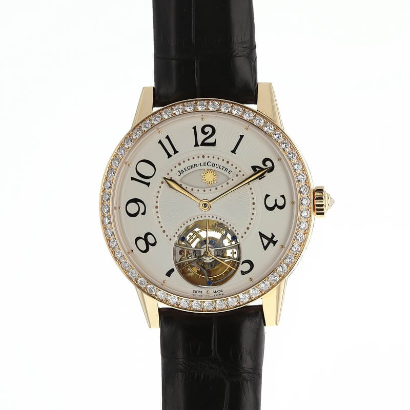 Armbanduhr Ziffernblatt Uhrenwerk Details Präsentation