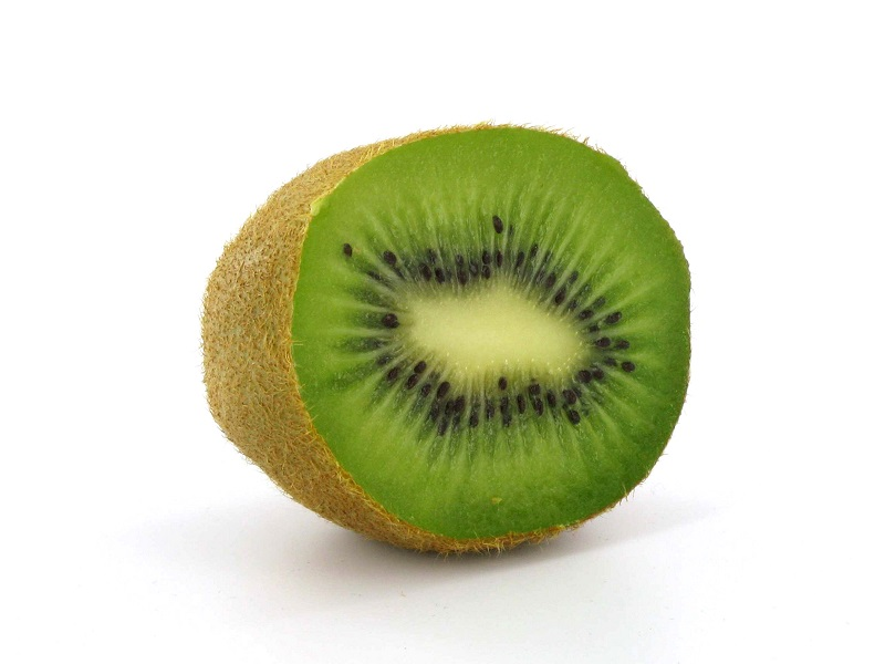 Obst Kiwi Lebensmittel Einzelhandel Präsentation der Produkte