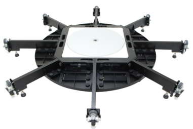 360-Grad-Drehteller für extragroße Produkte