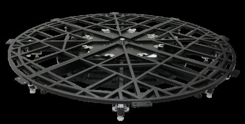 360-Grad-Packshot-System für Animationen von großen Produkten