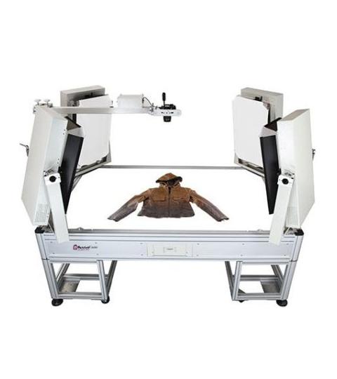 LuminaPad Lichttisch liegende Mode Packshot