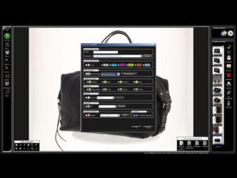 Bildbearbeitungssoftware PackshotCreator für Lederwaren