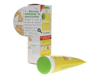 Details von Kosmetika-Packaging fotografieren