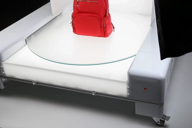 360° drehbare Platte für Produktanimationen