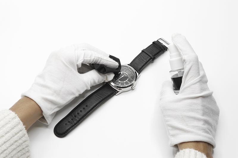 Bereiten Sie Ihre Uhr vor, indem Sie sie reinigen