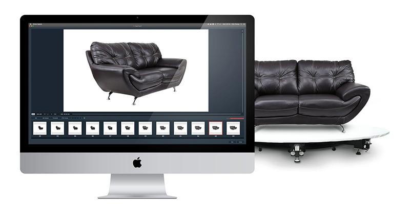 Fotostudios für die 360° Produktfotografie