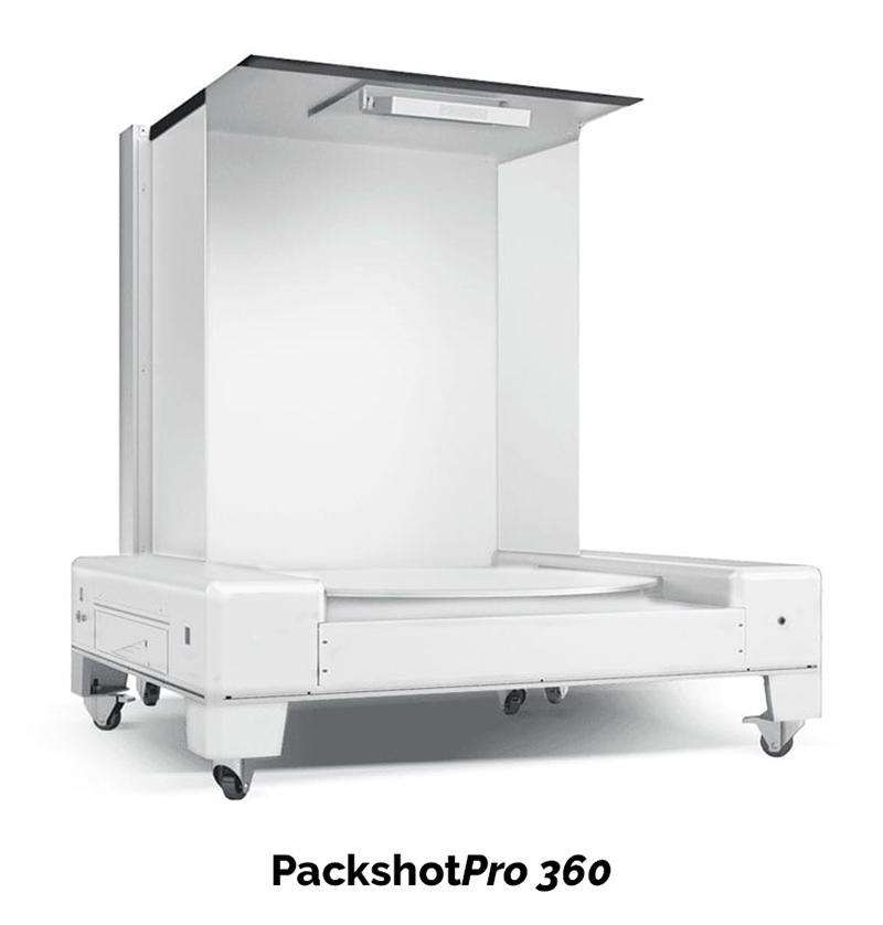 Fotostudios mit integrierten transparenten 360° Drehscheiben für 360°-Produktanimationen