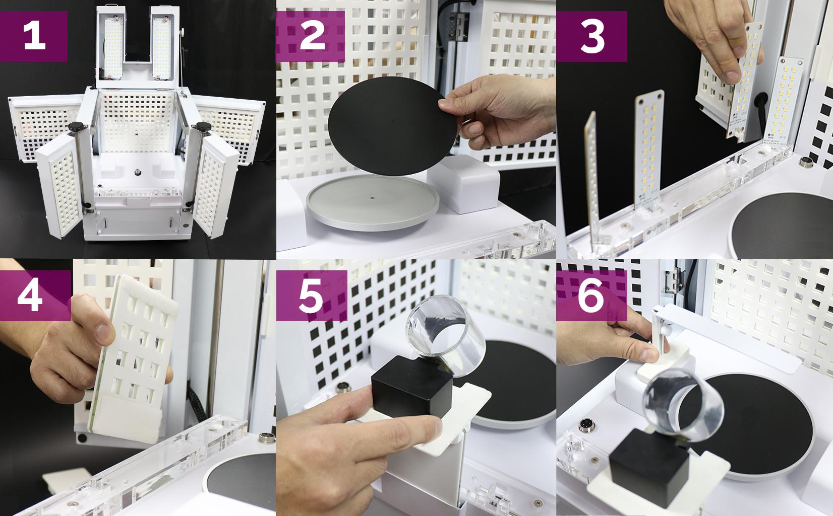 So richten Sie Ihr Studio für eine funkelnden 360° Ansicht eines Diamanten ein